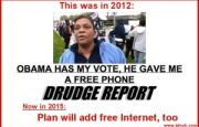 First, free Obamaphones. Now, free Internet. Next???