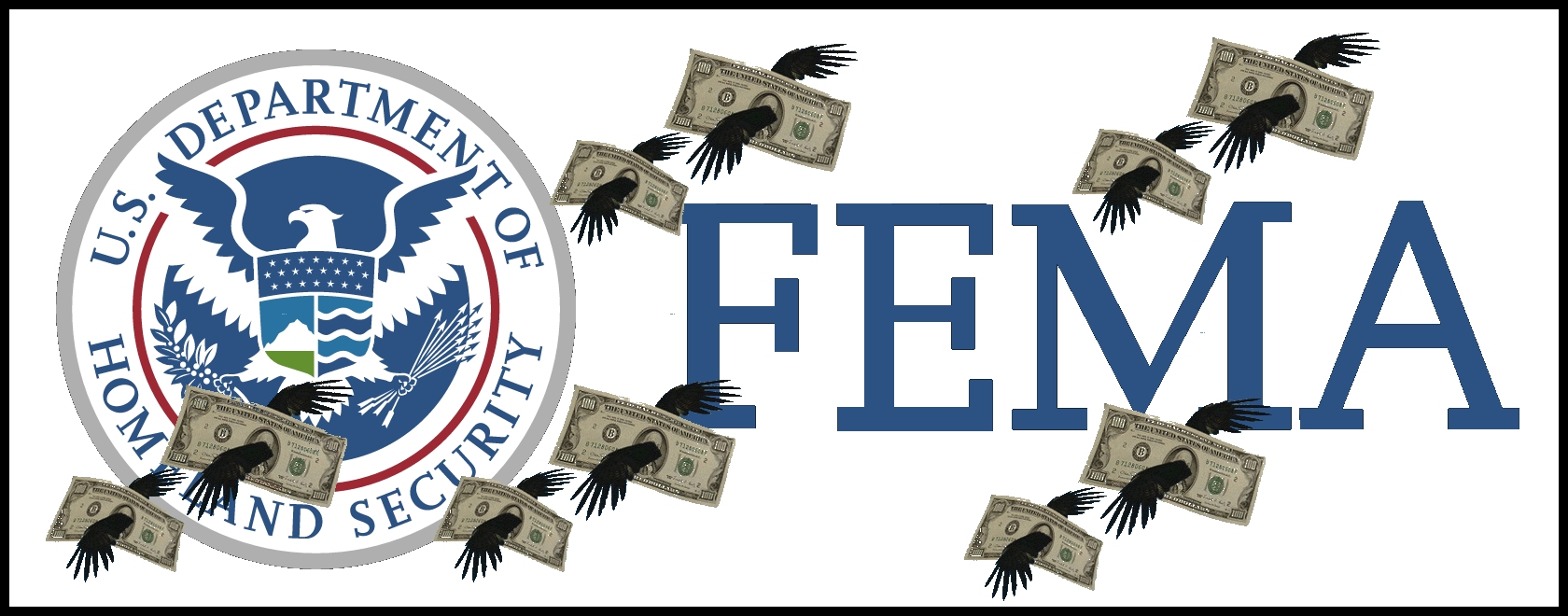 FEMA money flies