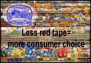 Less red tape, more consumer choice